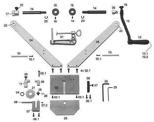 CB-112 Spare Parts