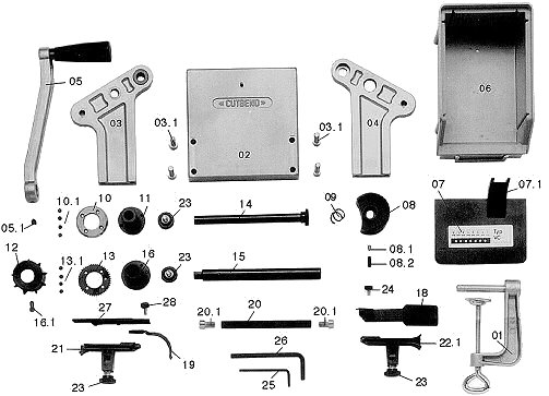 Variocut Machine Spare Parts